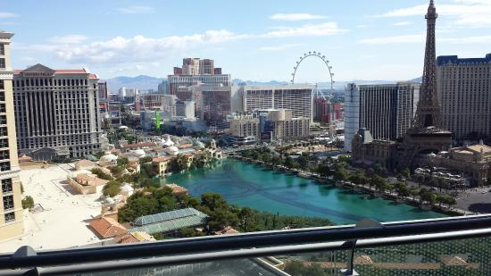The Cosmopolitan Of Las Vegas Autograph Collection Terrace Suite Balcony View