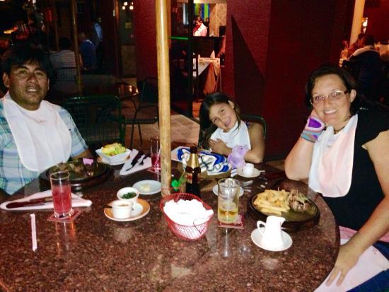 Con mi familia en TIZONES.
