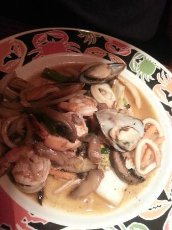 Taan Thai Cuisine: spicy seafood