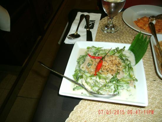 XO 46 Heritage Bistro: Vegetable dish