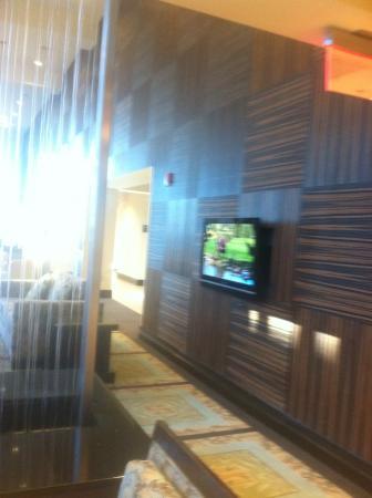 Hampton Inn & Suites National Harbor/Alexandria Area: Sitting area