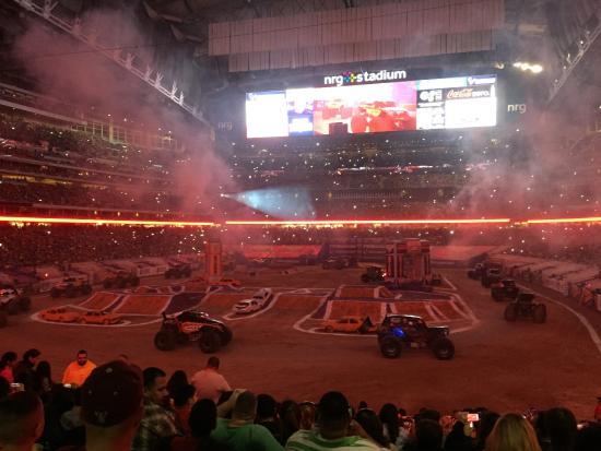 Monster Truck Jam 2015 Picture Of Nrg Stadium Houston