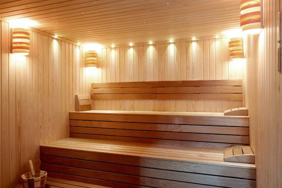 Thien Thai Hotel: Sauna