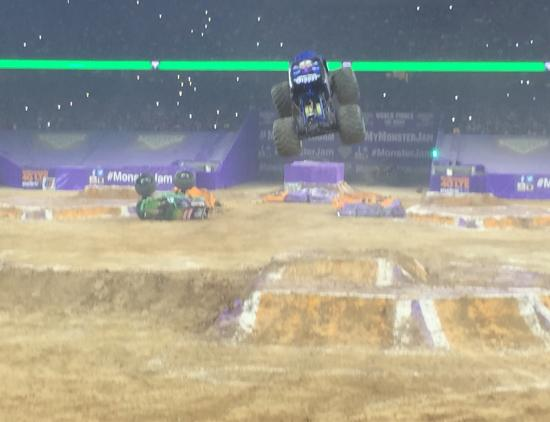 NRG Stadium: Monster Truck Jam 2015
