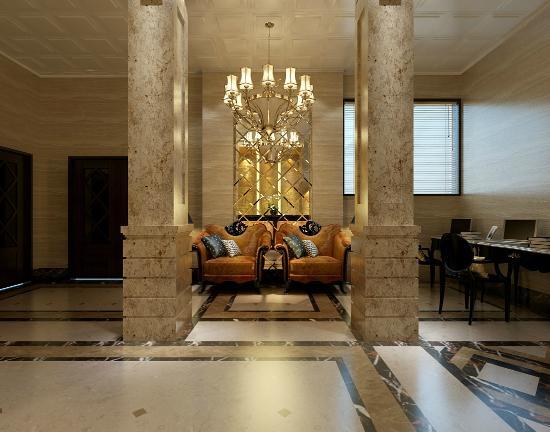 Thien Thai Hotel: Reception/ Lounge Area