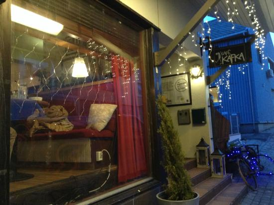 Kafe Kafka: お店の外