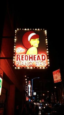 Redhead Piano Bar: LOVED IT!