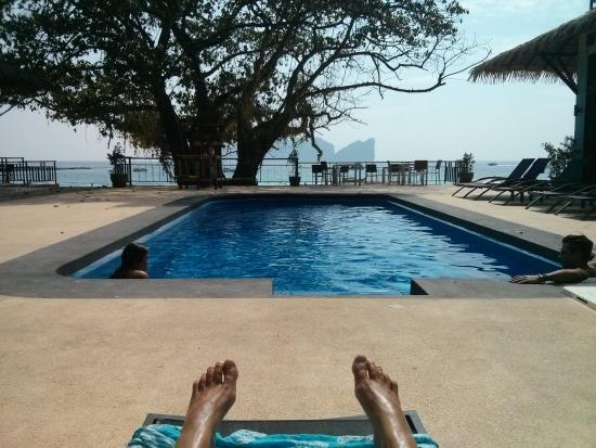 P.P. Long Beach Resort : the new pool