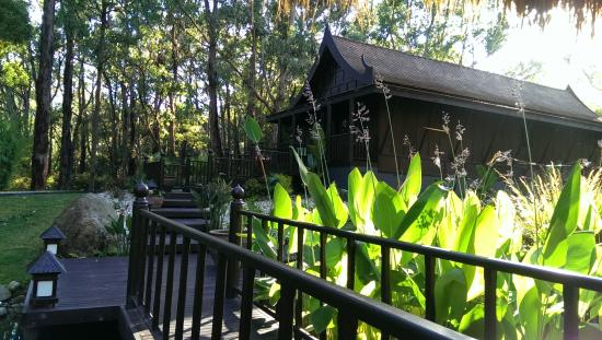 Balinese Retreat: villa