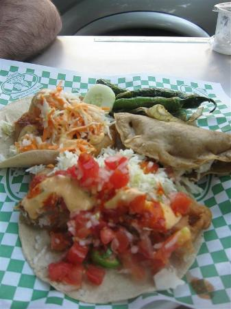 Taco Fish La Paz