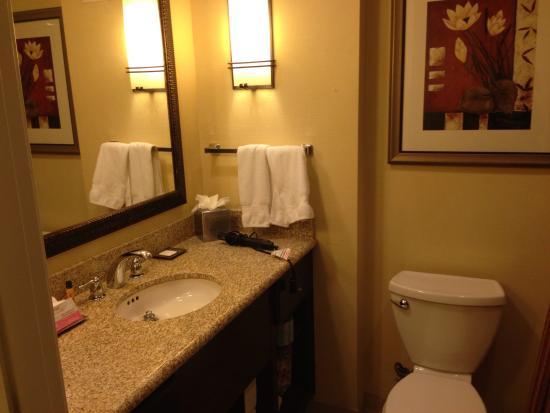 Hilton Phoenix Chandler : Restroom