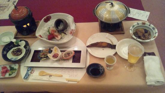 Hotel Grand Mer Sankaiso: 夕食