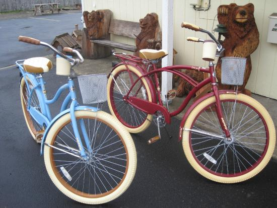 The #1 Coastal Inn and Suites: New His and Hers Bikes