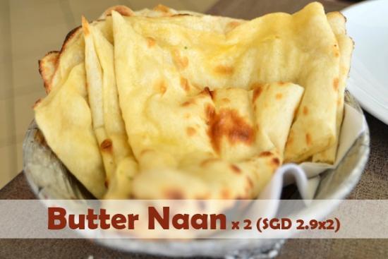 Tandoori Corner - Balestier Road : Butter Naan