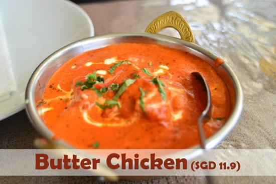 Tandoori Corner - Balestier Road : Butter Chicken