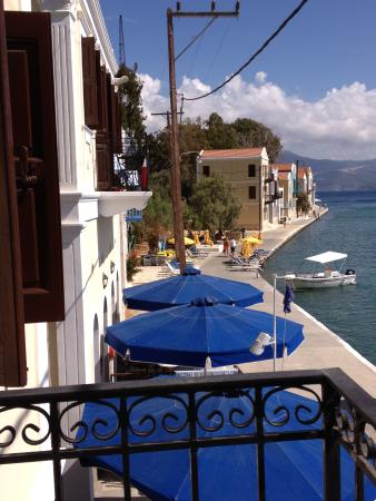 Hotel Kastellorizo: view from terrace