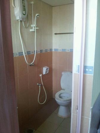 Time Hotel Melaka: Toilet
