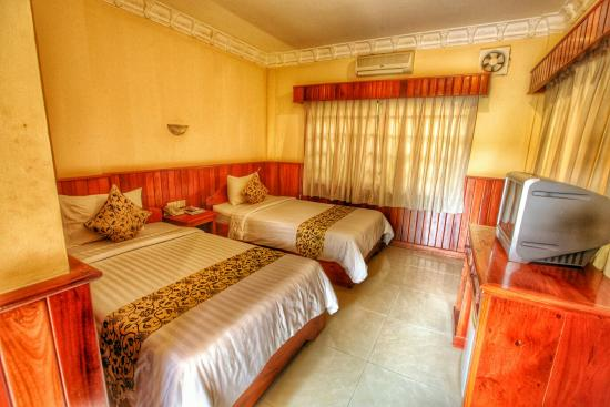 Check Inn Siem Reap: Nice size bedrooms