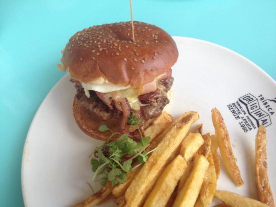 Tribeca Original: Breakfast Burger
