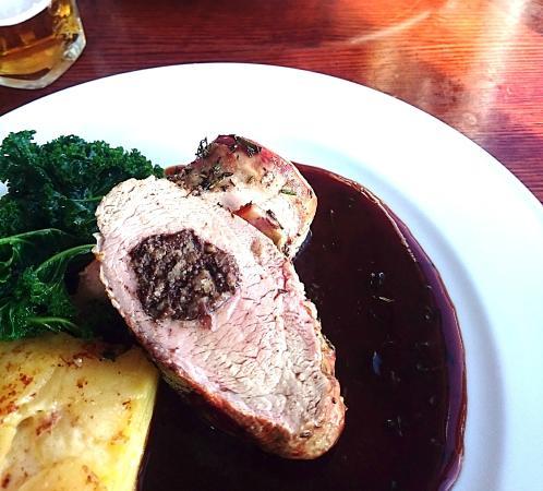 The Bridge Inn Shoreham: Pork loin