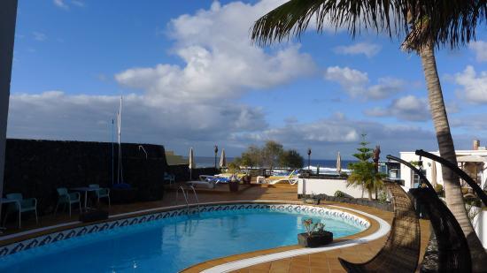 Hotelito del Golfo : Hotel mit Pool