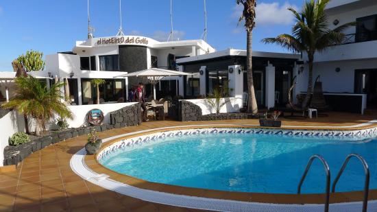Hotelito del Golfo : Pool und Hotelito