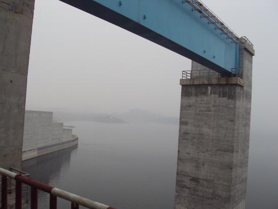 Danjiang Dam: the upper level