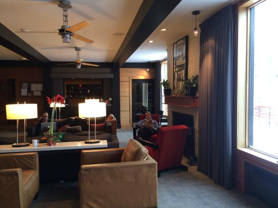 Alta Lodge: Lobby view