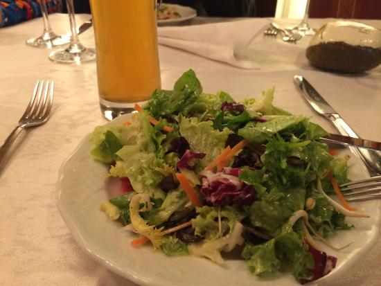 Tamm, เยอรมนี: Salätle vorweg