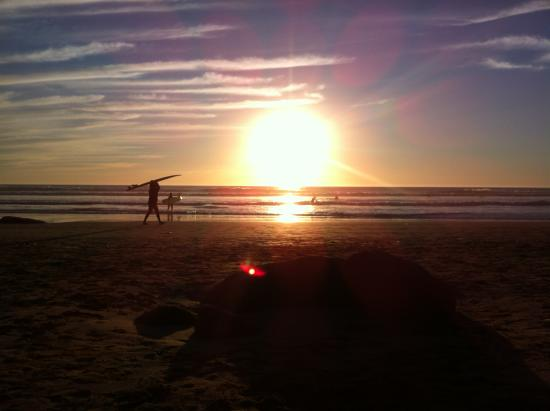 Surf Maroc L'Auberge : Yet another flawless sunset!