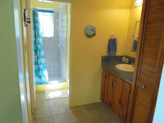 Sunrise Garden Apartments: 1 Bed Apartment - Bathroom
