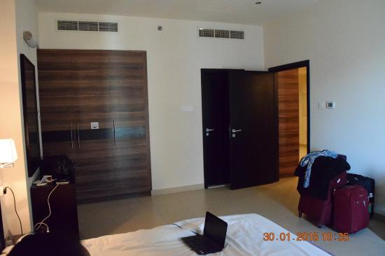 Dunes Hotel Apartments Oud Metha: bed room