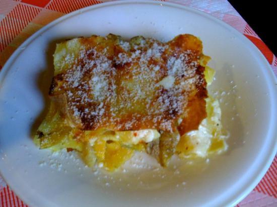 La Pergola: Ottime davvero le lasagne ai carciofi!