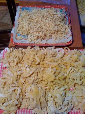 La Pergola: Trionfo di pasta fresca fatta in casa!