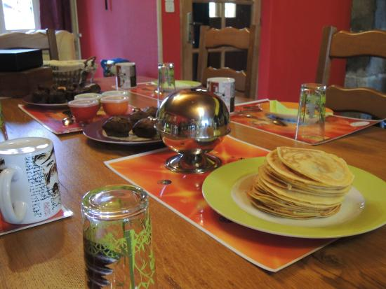 M&S Masvaudier : Petit déjeuner
