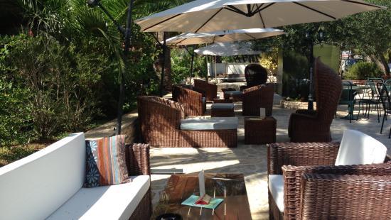 Hotel Villa Adriatica: Garden of Villa adriatica