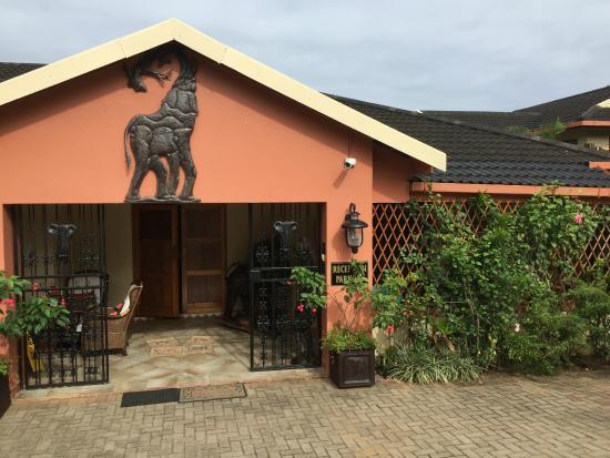 Elephant Coast Guest House: Aankomst