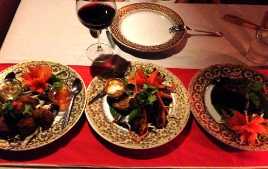 Spirit House Restaurant : dinner