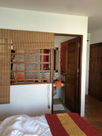 L' Hacienda: chambre