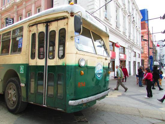 Trolleybuses in Valparaiso