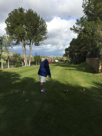 Golf Son Vida: 18th tee