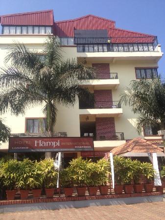 Hotel Hampi International : First look