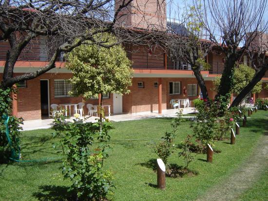 Hostería Postal De Las Sierras: vista de las habitaciones