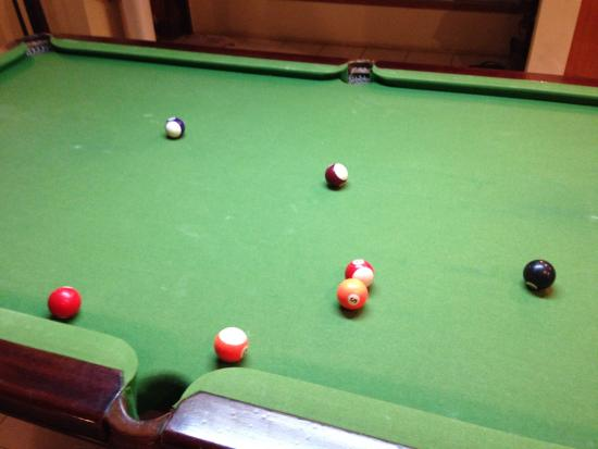 Jing's Guesthouse: Pool table