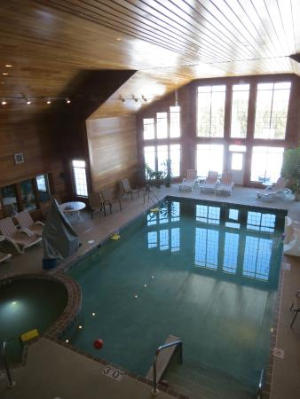 Scandinavian Lodge: indoor pool area