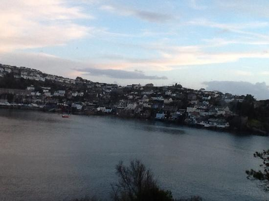The Fowey Hotel: view from the Lookout bar Fowey Hotel