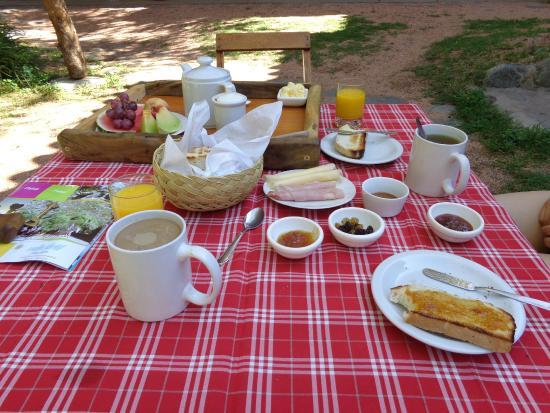 Cerro Del Valle Hotel Rustico: Desayuno