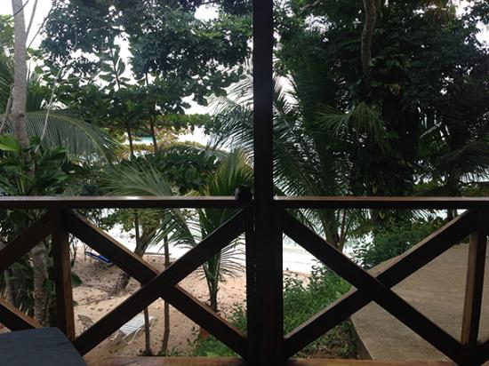 "Popa Paradise Beach Resort: The ""ocean"" view needs some landscaping."