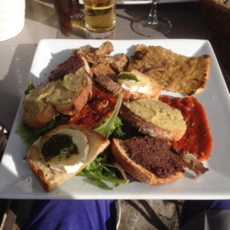 Malabar restaurant : Délicieuse assiette Provençale