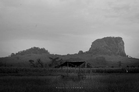 Pemalang, Indonesia: Penampakan Gunung Gajah